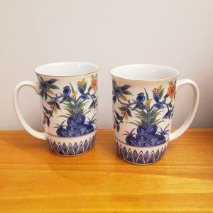 vintage Asian mugs